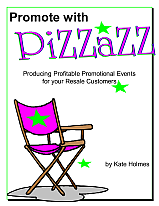Promote with Pizzazz includes worksheets
