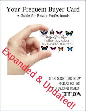 Frequent Buyer Card Kit for Resale & Consignment Shops