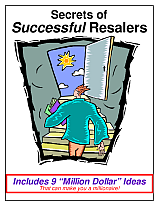 Secrets of Successful Resalers from Too Good to be Threw