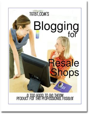 Blogging for Resale Shops