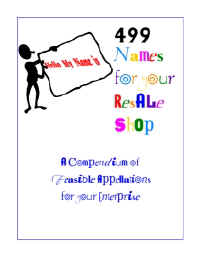 499 Names for your Resale Shop