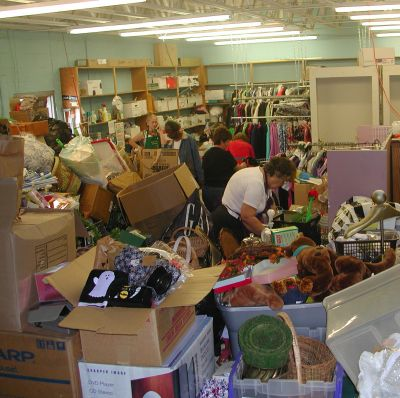 Kate's Messy Back Room has lots of TGtbT.com treasures for consignment, resale, and thrift shopkeepers