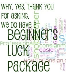 Beginner's Luck Package for Resale Shopkeepers