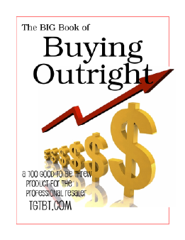 The Big Book of Buying Outright for Resale Shops
